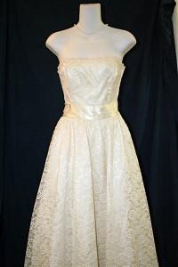 Vintage Gown at Blue Sky Bridal for $200