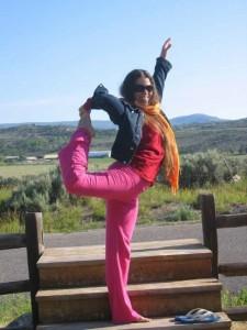 Shanti pose