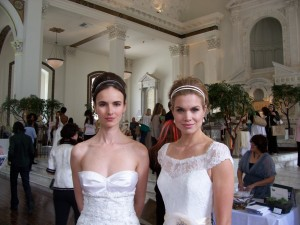 Models Wearing Kirstie Kelly Wedding Dresses, Photo by Paige Donner