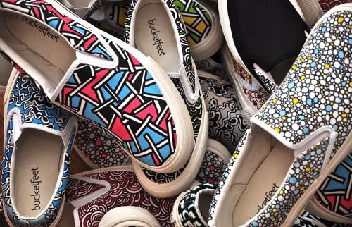 Bucket Feet Shoes