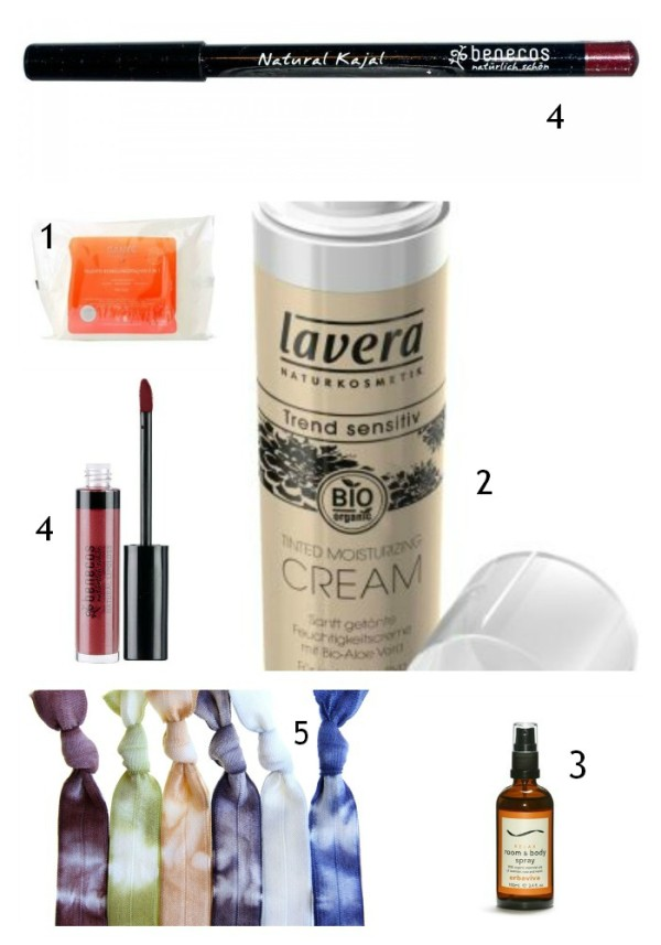 Beauty Essentials Collage