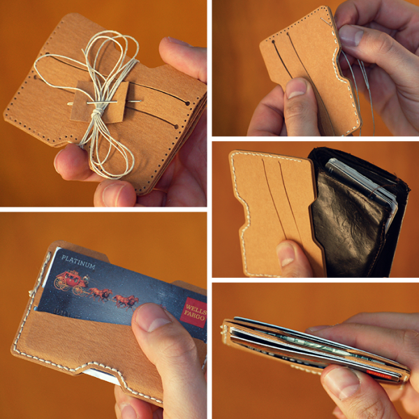 DIY Wallet Kits are Cute and Sustainable