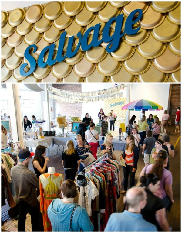 Salvage Vintage Shopping Event