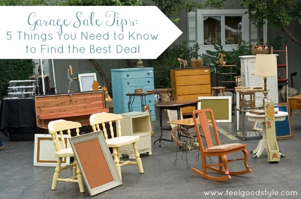 Garage Sale Tips: 5 Things You Need to Know to Find the Best Deal