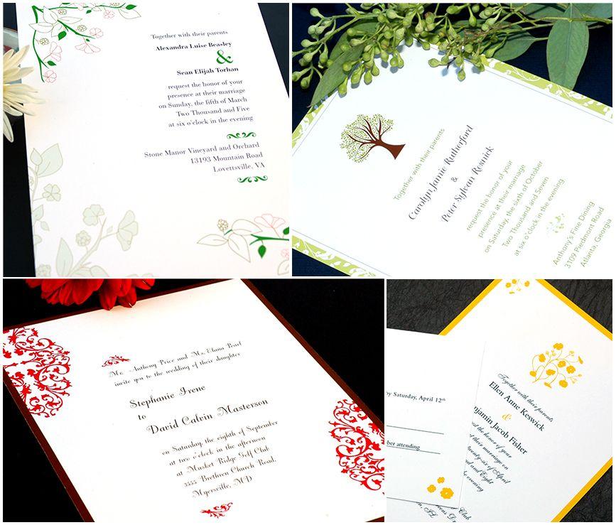 Wedding Invitations Eco Friendly: Eco-Friendly Wedding Invitations By EarthlyAffair.com