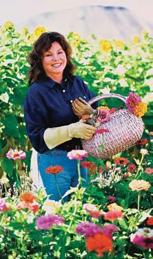 Marsha Mason, Actress, Biodynamic Herb Farmer