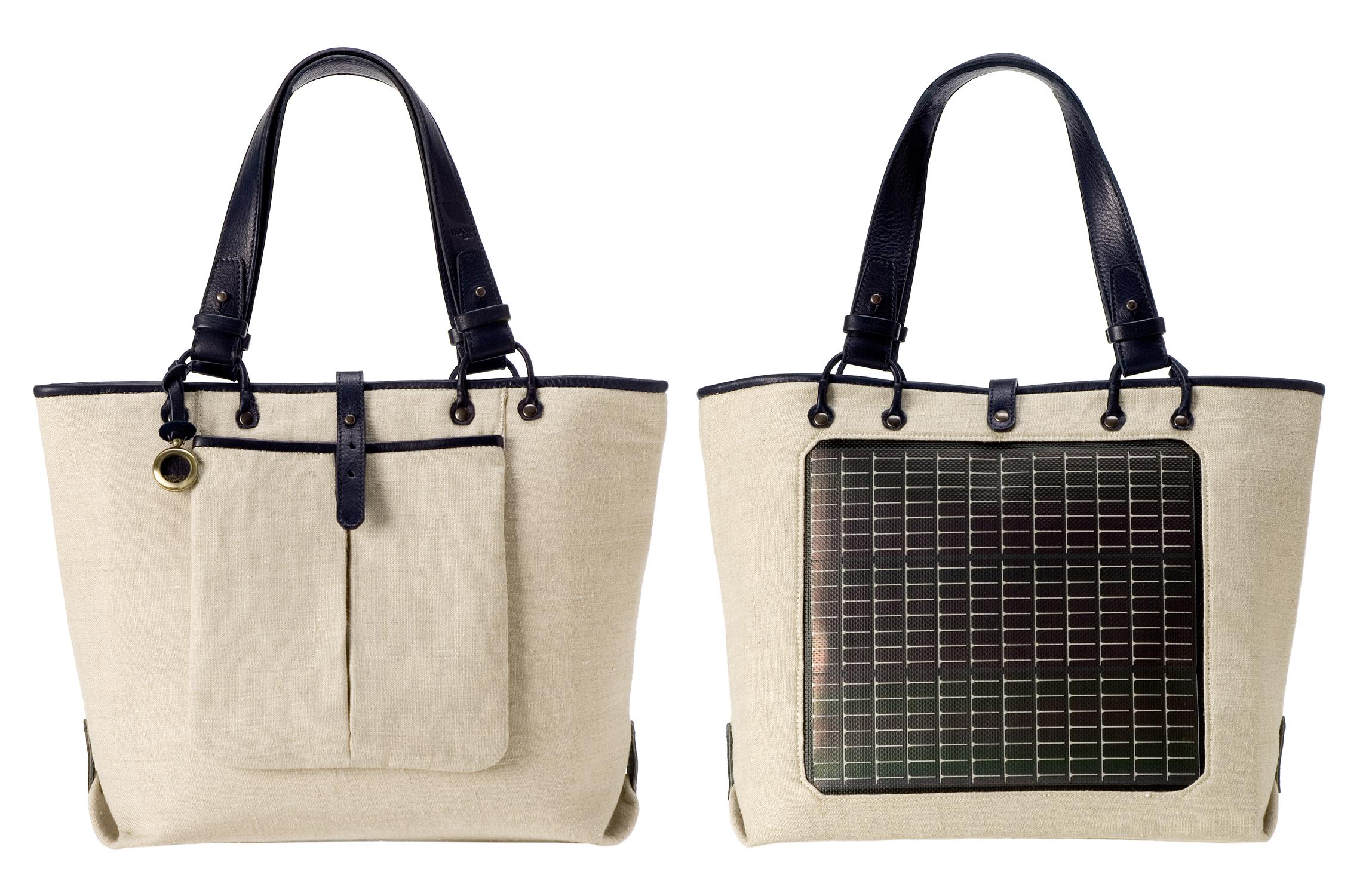 Noon Solar Launches Fall '08 Solar-Powered Handbag Line ...