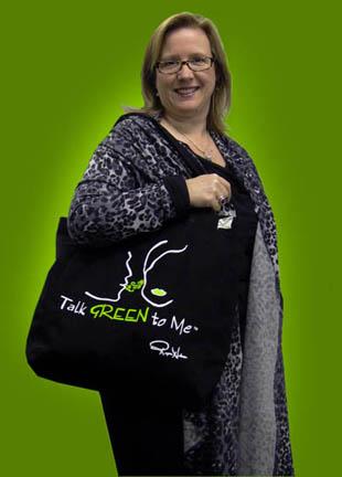Green Diva Meg - Eco Bag Lady