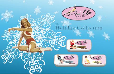 Pin Up Lip Balm's Holiday Tins