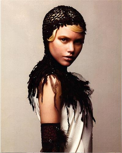 Paris Fashion Week Supermodel