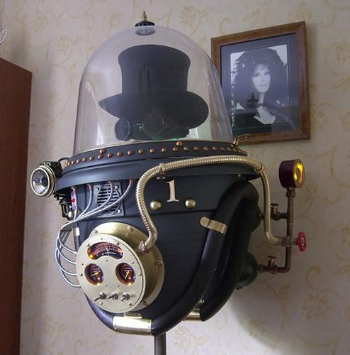 Steampunk Space Helmet