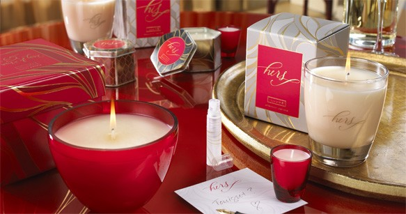 His and Hers Passion Candles by Illume