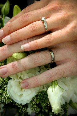 B. Sarah Klein Photo - Wedding Rings