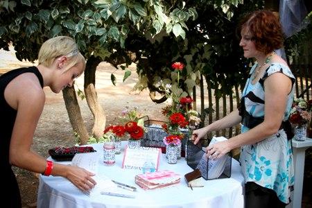 B. Sarah Klein Photo - Guest Book Table