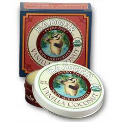 Badger Balm Vanilla Coconut Everyday Mositurizer