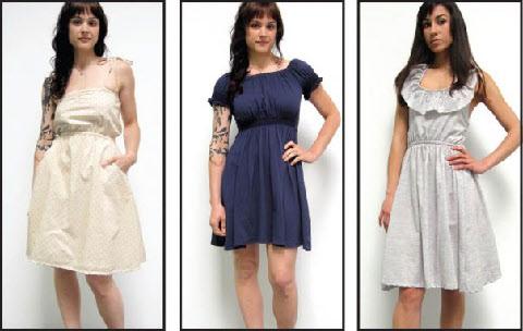 She-Bible Three Spring '09 Dresses