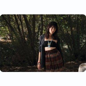 Popomomo Curatorial Collection Rara Skirt and Annie Potts Blazer