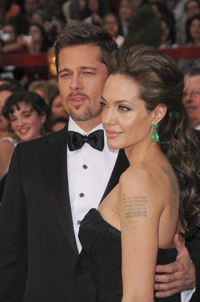 Photo of Angelina Jolie and Brad Pitt by PR Photos