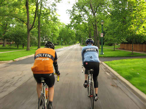 women's and men's cycling jerseys