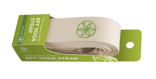 organic cotton yoga strap from Gaiam
