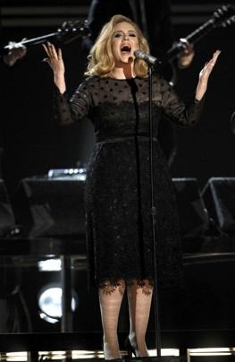 Adele Grammy makeup