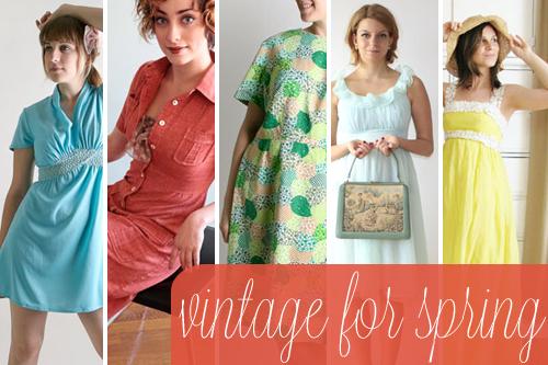 vintage dresses for spring