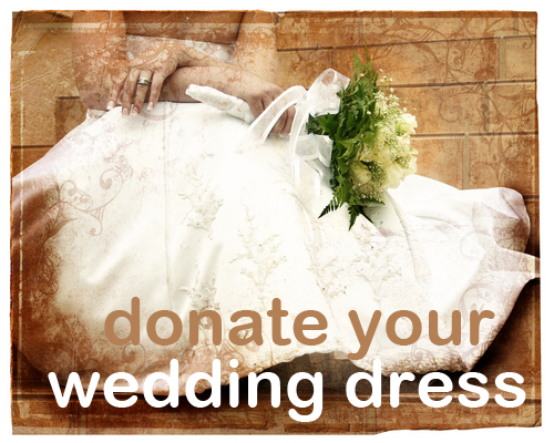 wedding dress donation