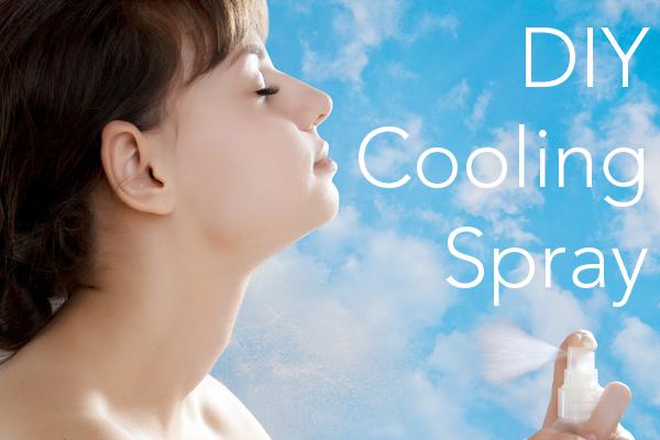 DIY Cooling Spray