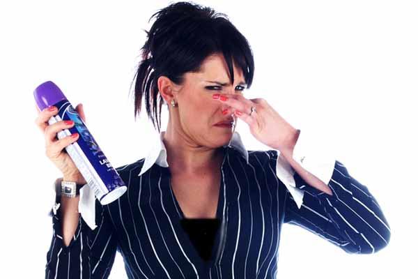 air freshener stinks