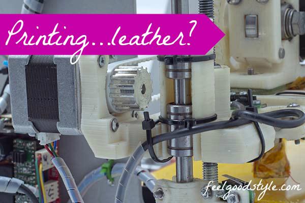 3D Printer Faux Leather