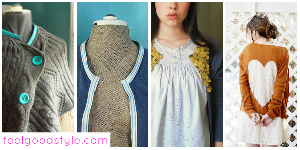 Diy fashion 4 ways to refashion an old cardigan for fall feel good style Diy fashion of hairstyle