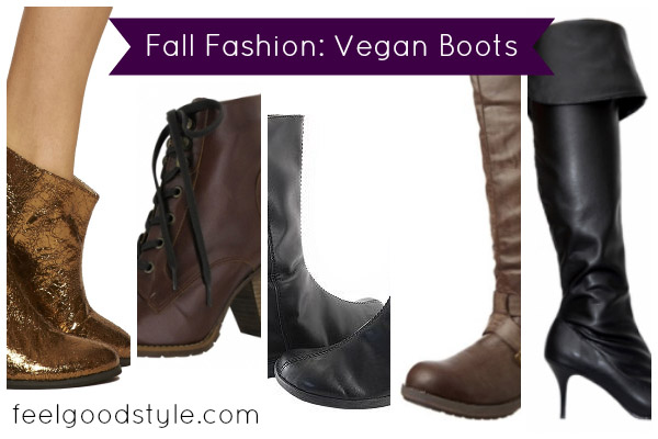 Vegan Boots for Fall