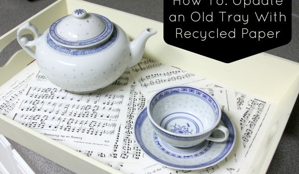 how-to-update-an-old-tray-with-recycled-paper