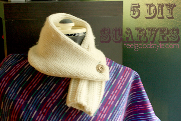 5 DIY Scarf Tutorials