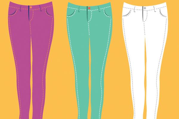 Thrift Shopping Skinny Jeans