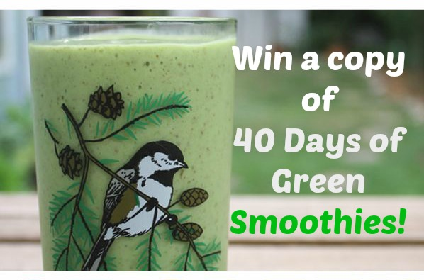 40 Days of Green Smoothies cover pic