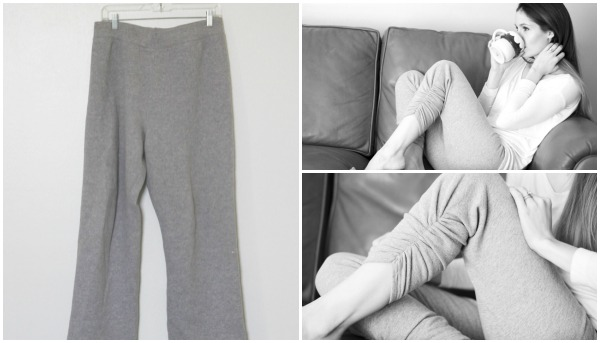 DIY Fashion: Skinny Sweatpants