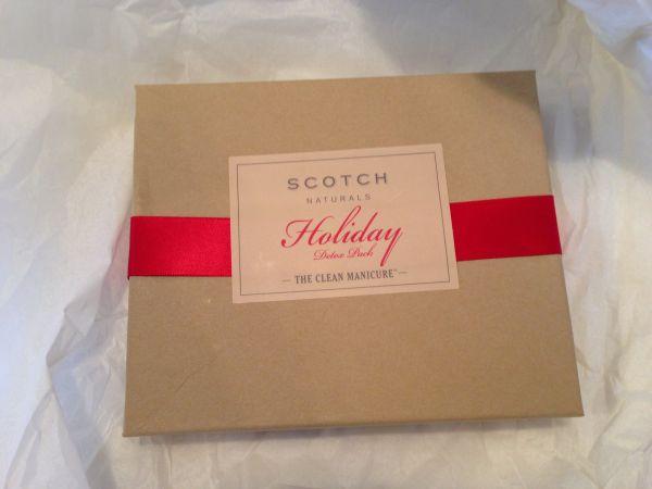 Scotch Naturals Nail Polish Holiday Detox Pack