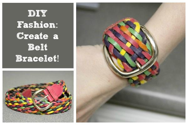DIY Fashion: Create a Belt Bracelet!