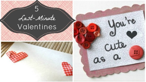 5 DIY Valentines