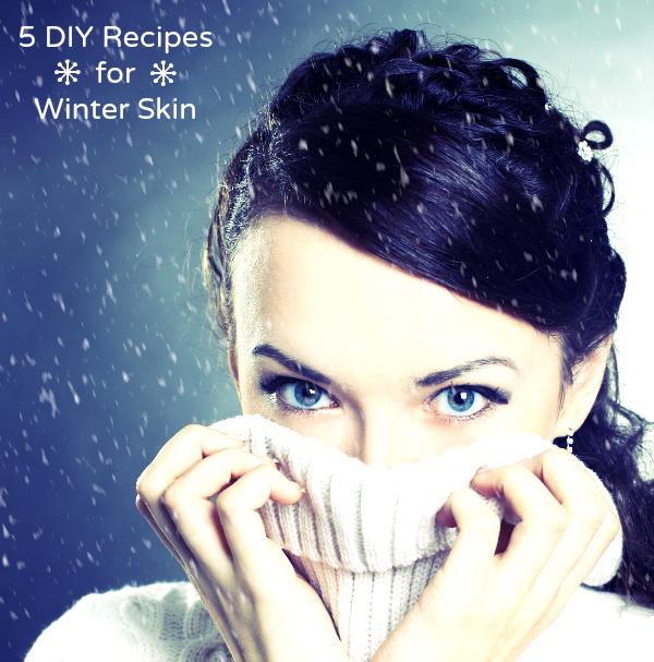 5 DIY Recipes to Beat Dry Skin