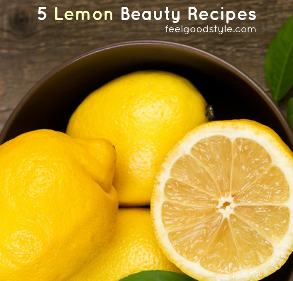 5 Beauty Uses for Lemons