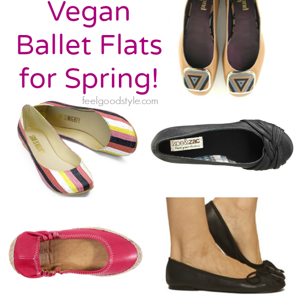 5 Vegan Ballet Flats from Eco-Friendly Materials