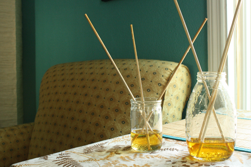 DIY Fragrance Sticks: How to Make Your House Smell Good Naturally