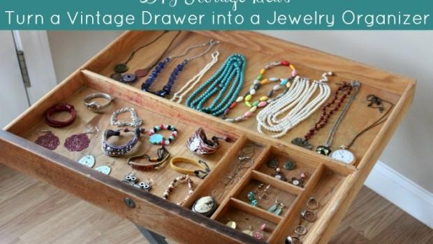diy-storage-ideas-turn-a-vintage-drawer-into-a-jewelry-organizer