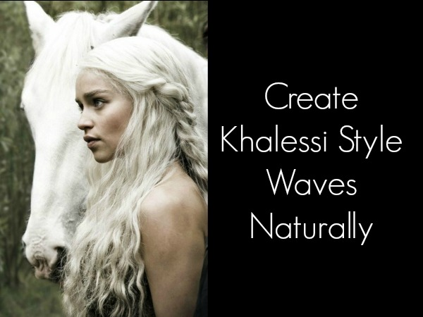Game of Thrones Khalessi style waves