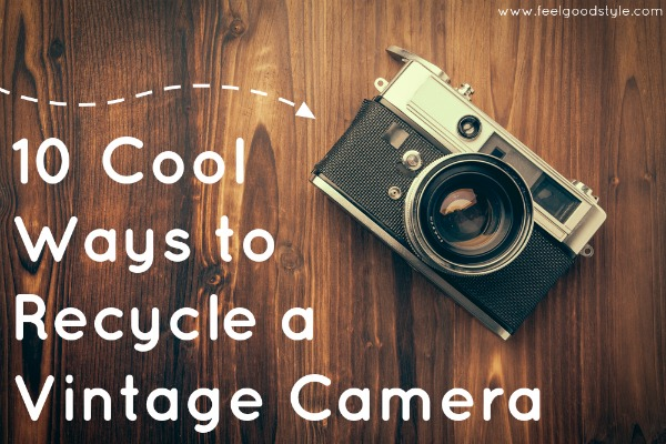 10 Cool Ways to Recycle a Vintage Camera