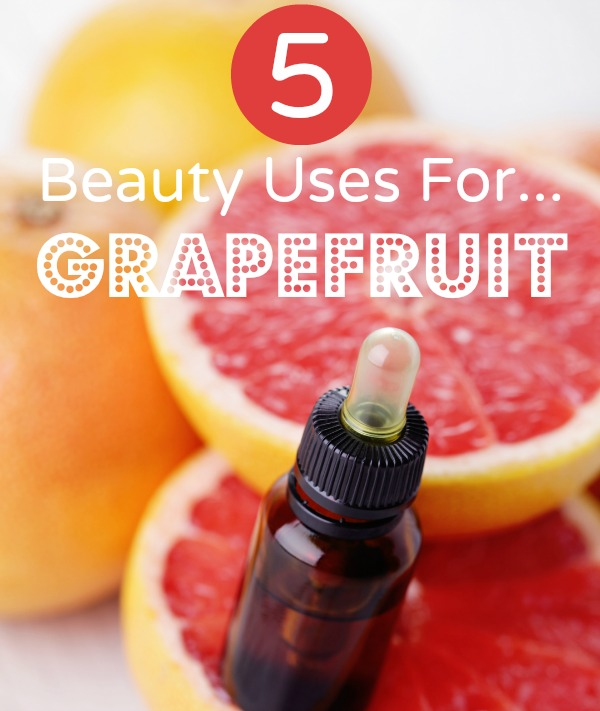5 Beauty Uses for Grapefruit