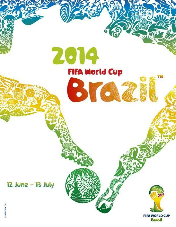 FIFA World Cup 2014 image from Pinterest