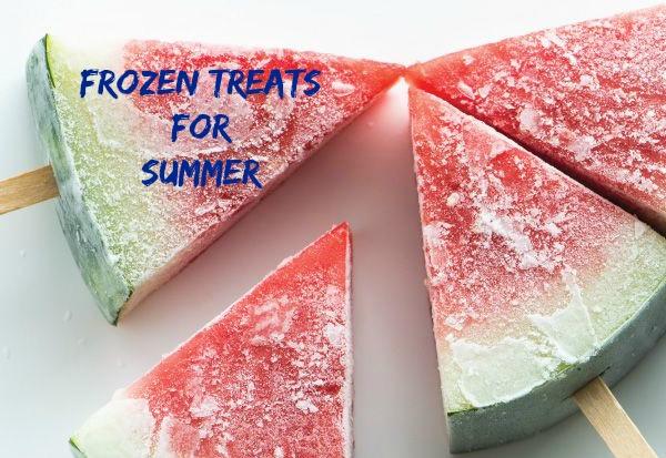 Frozen treats image from Pinterest